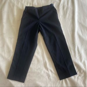 EUC Uniqlo Girls Navy Blue Pant